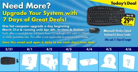 Best Buy Wireless Keyboard and Mouse