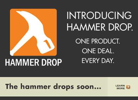 Home Depot Hammer Drop