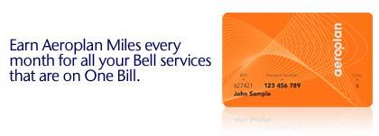 Aeroplan Bell Deal