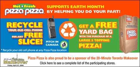 Free Pizza Canada