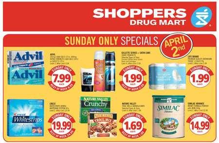 Shopper drugs mart flyer