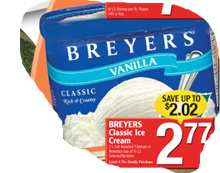 breyers Classic Icecream