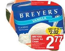 breyers Classic Icecream