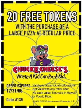 Chuckie Cheese Minute Maid Coupons http://championmonkey.com/ku-printable-coupons-chuck-e-cheese-minutemaid.htm