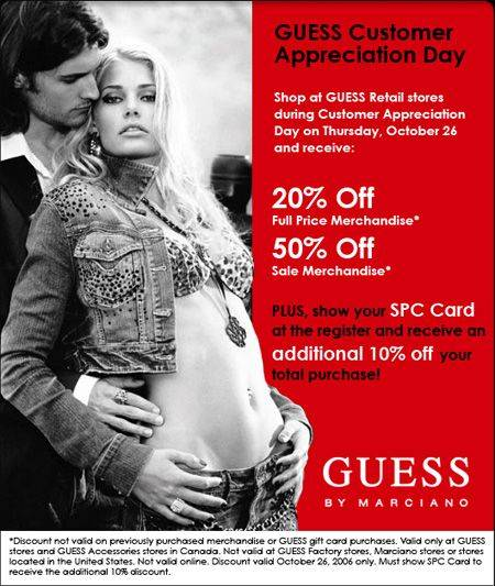 Guess coupon code