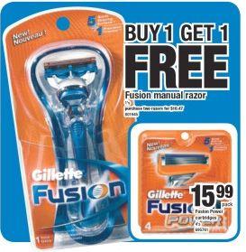 Gillette Fusion Canada