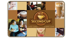 Second Cup Gift Card
