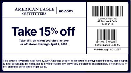 american eagle coupon 2019 april