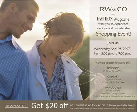 RW & Co Canada