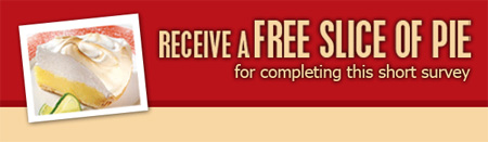 Swiss Chalet Canada: Free Slice of Pie