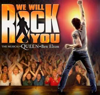 We Will Rock You - $50 Tickets