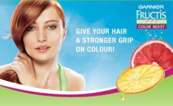 while supplies last request a free garnier fructis color resist sample pack containing garnier fructis color resist shampoo and conditioner samples plus - Fructis Color Resist