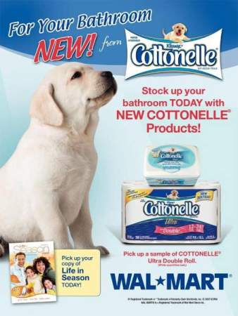 Free Samples Cotonelle at Walmart Canada