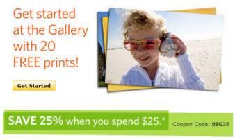 kodak gallery canada coupon code