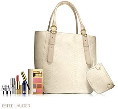 with any EstsYe Lauder purchase of $55.00 or more at Holt Renfrew