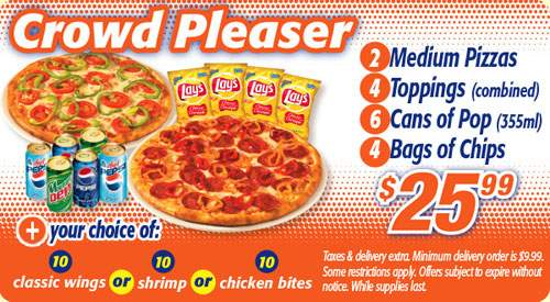 Pizza Pizza Canada, Cineplex & CN Tower Deals