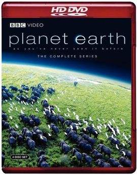 Planet Earth BBC Series Blu-ray or HD DVD