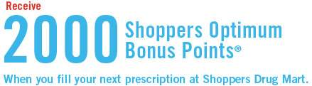 Shoppers Drug Mart Coupons for Optimum Points