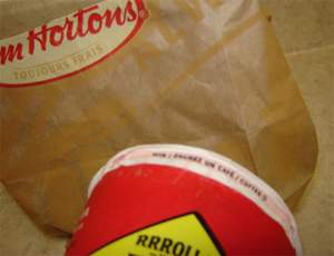Tim Hortons Roll Up the Rim to Win - Day 2