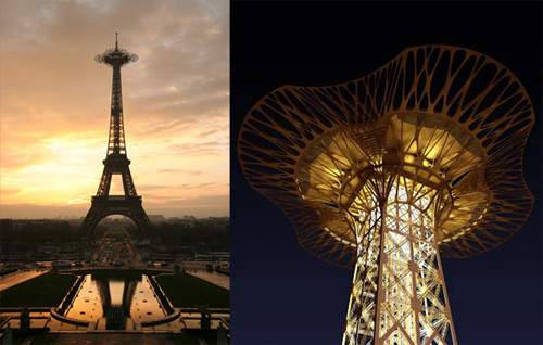 Eiffel Tower's New Observation Deck