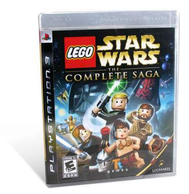 LEGO Star Wars: The Complete Saga Video Game - PlayStation 3