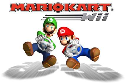 Mario Kart Wii With Wii Steering Wheel $39.99