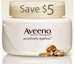 Canadian Coupons: Aveeno Positively Ageless $5 off