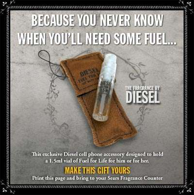 Canadian Freebies: DIESEL Cell Phone Accessory from Sears