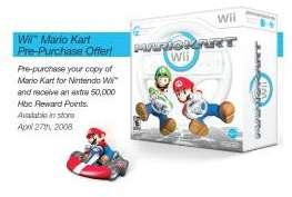 Zellers Flyer: Wii Mario Kart Offer