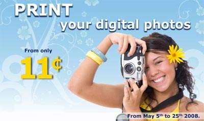 IGA Photo Boutique Digital Photos 11cents