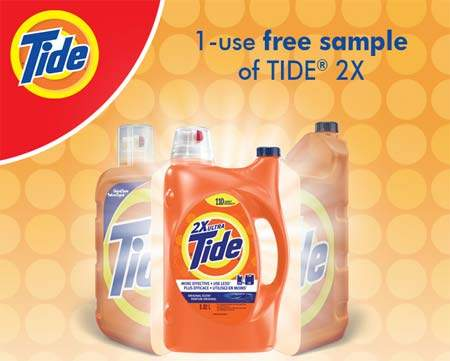 Free Samples Canada: Tide 2X 50ml | Canadian Freebies, Coupons ...
