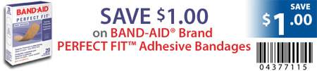 Canadian Coupoans: Band-Aid $1 off