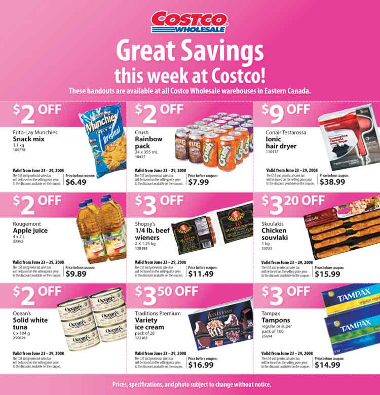 Costco Canada Flyer  Coupons June      Canadian