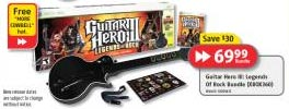 Future Shop Guitar Hero III for XBox 360 $69.99