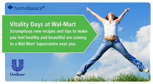 Wal-mart Canada: Discover Vitality