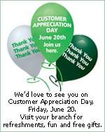 TD Canada Trust: Customer Appreciation Day & 6 Weeks of Free Gifts