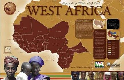 Canadaian Freebies: West Africa Map