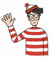 """Canadian Freebies: Waterstone's """"Where's Wally"""" Hat - First 1000"""