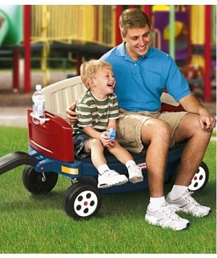 Sears Canada: Little Tikes Ride & Relax Wagon $104.99