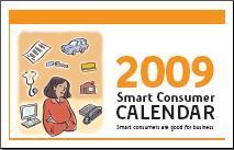 Free 2009 Smart Consumer Calendar Canada
