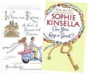 "Canadian Freebies: First 10,000 Get a Free Copy of ""Can you keep a secret?"" or ""When in Rome"" Book from Chatelaine"