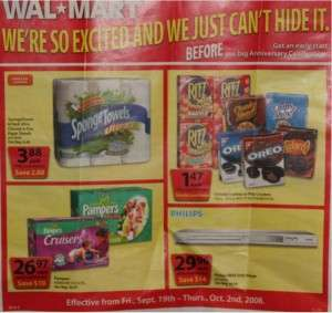 Walmart Canada Flyer Pre-Anniversary Sale
