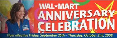 Walmart Canada's Anniversary Flyer Dissected and Coupons Listed