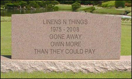 Linens N Things Canada RIP