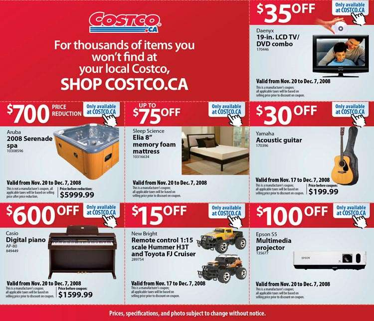 Costco store online shopping