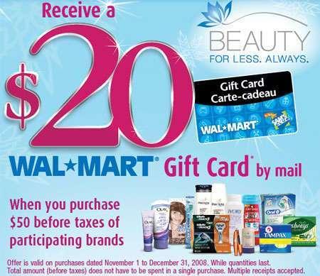 Walmart Canada P&G Promo