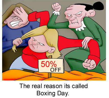 boxing day offer