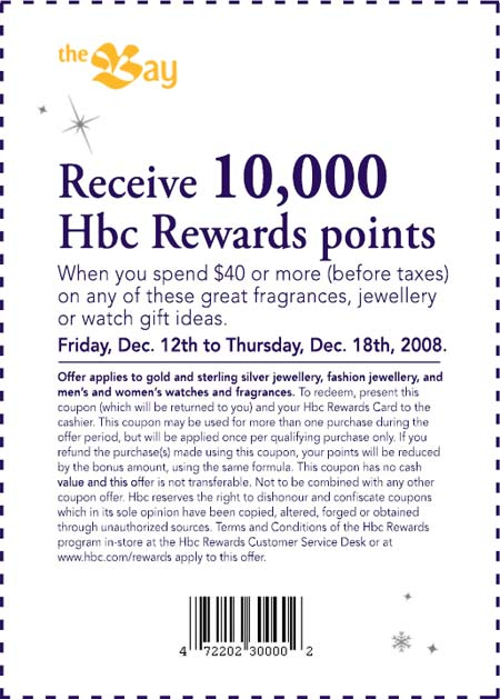 The Bay Free HBC Rewards