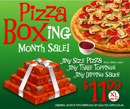 Pizza Pizza Boxing Month Sale