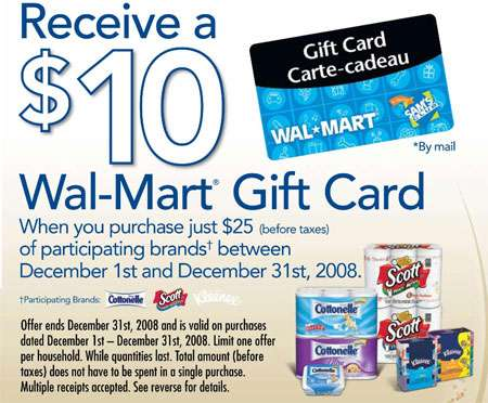 Walmart Canada: Free $10 Gift Card with $25 Purchase of Scotts ...